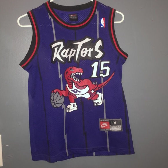 hot sales 08acc bdc7f Retro Vince Carter Raptors Jersey